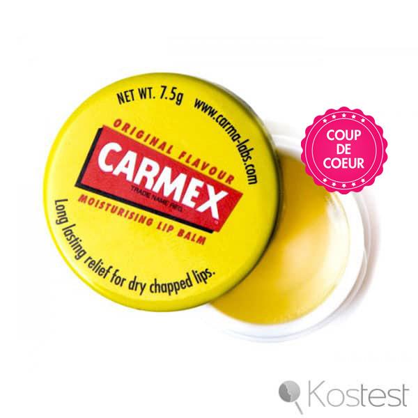 Baume à lèvres hydratant Carmex
