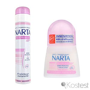 Déodorant anti-transpirant Narta