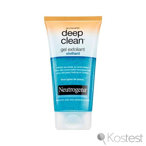 Gel exfoliant vivifiant Deep Clean Neutrogena
