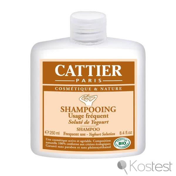 Shampooing solute yogourt Cattier