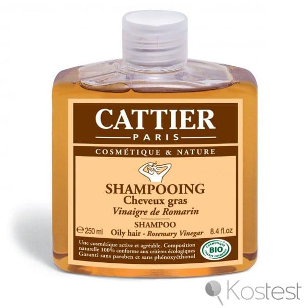 Shampooing vinaigre de romarin Cattier