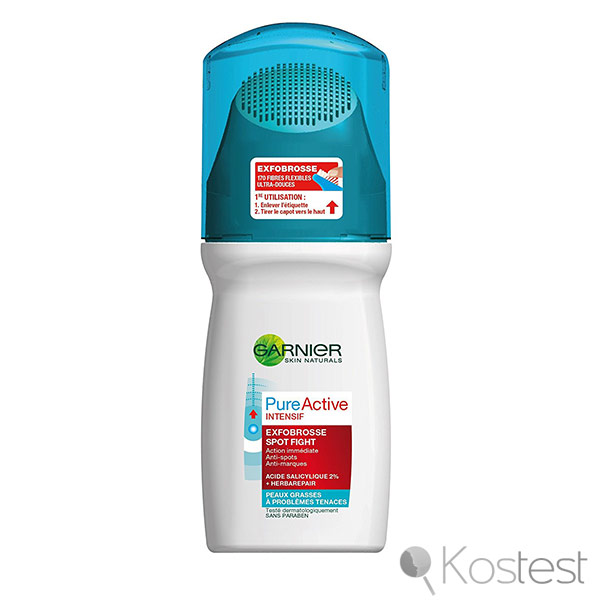 Exfobrosse spot fight Pure Active Garnier