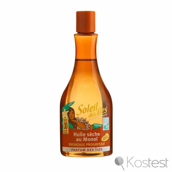 Huile sèche au monoï de Tahiti Soleil des Iles