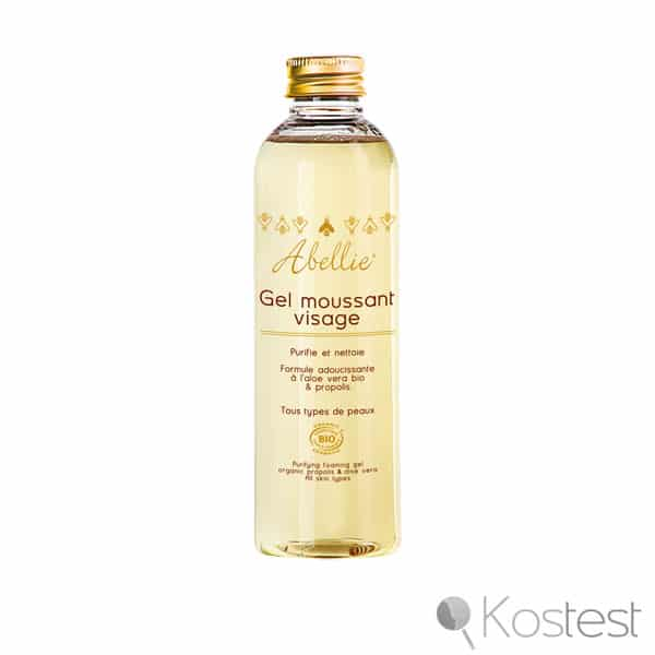Gel moussant visage Abellie