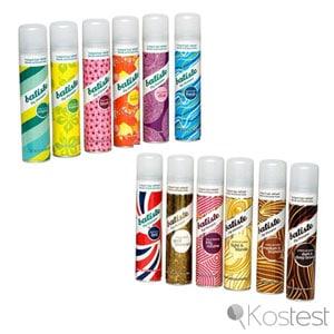 Shampooings secs Batiste
