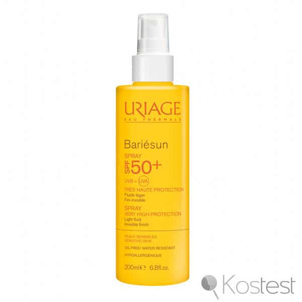 Spray haut protection SPF50 Bariésun Uriage