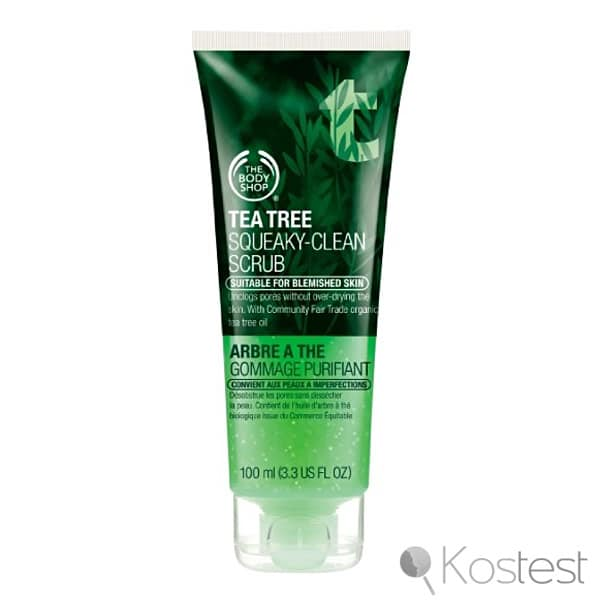 Gommage purifiant arbre à thé The Body Shop