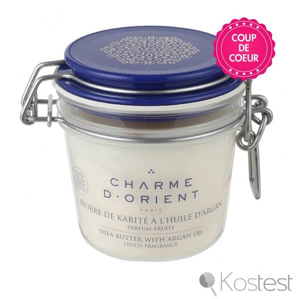 Beurre de karité à l'argan parfumé Charme d'Orient