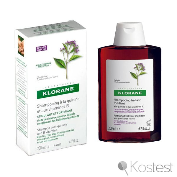 Shampooing à la quinine et aux vitamines B Klorane