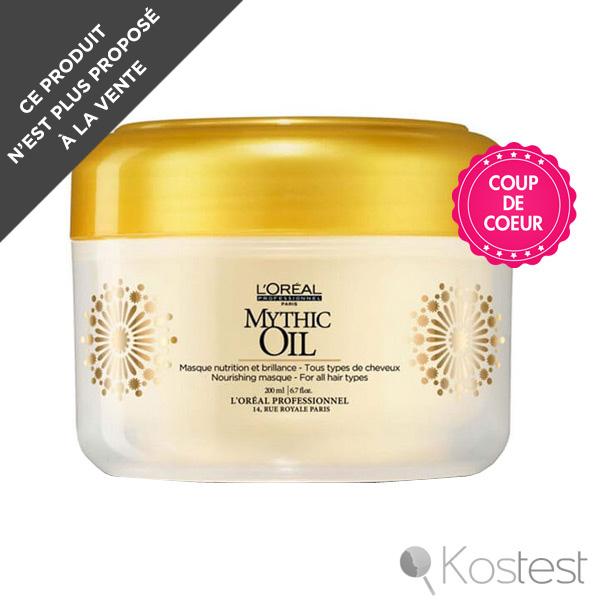 Masque Mythic Oil Nutrition et Brillance L'Oréal Pro
