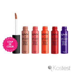 Crèmes à lèvres Soft Matte Lip Cream NYX