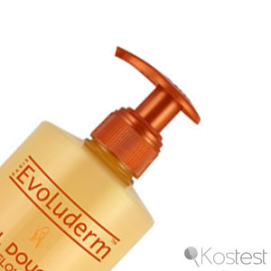 Pompe gels douche Evoluderm