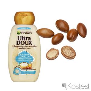 Shampooing crème nutrition richesse d'argan Garnier