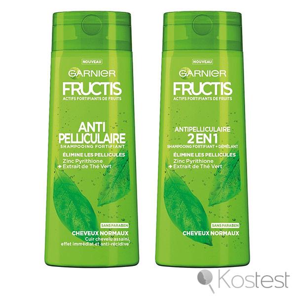 Shampooing antipelliculaire Fructis Garnier