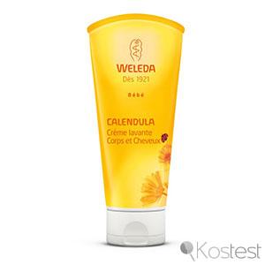 Crème lavante calendula Weleda