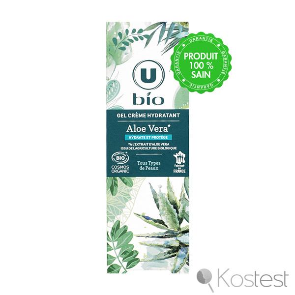 Gel crème hydratant Aloe Vera U bio