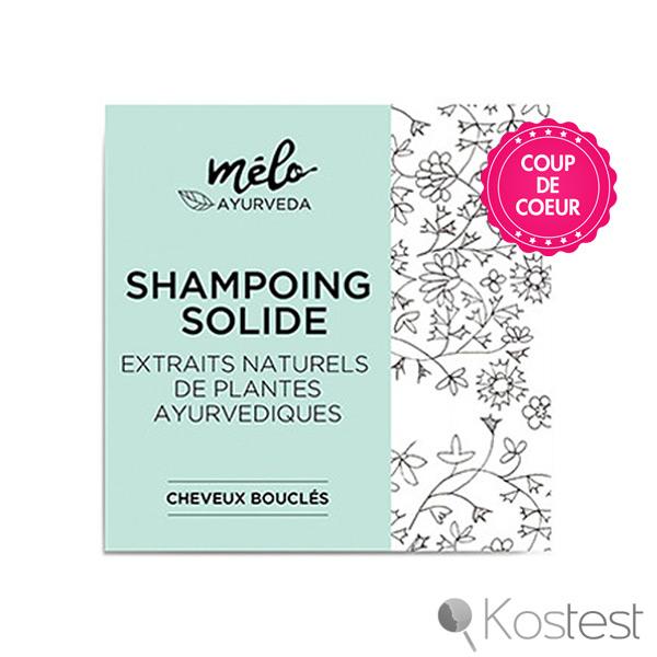 Shampooing solide cheveux bouclés Mélo Ayurvéda