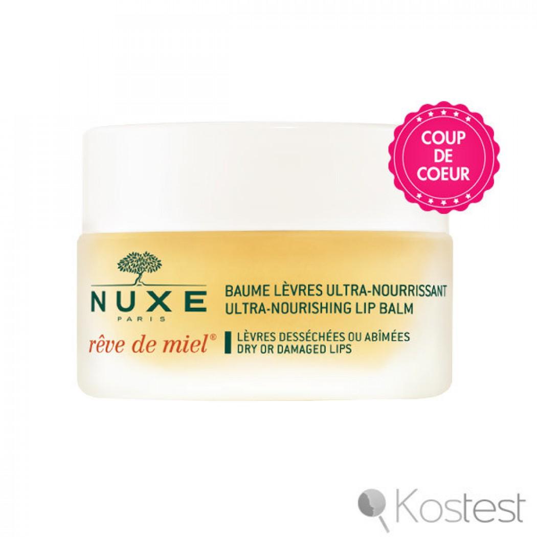Baume Lèvres Ultra-Nourrissant Nuxe