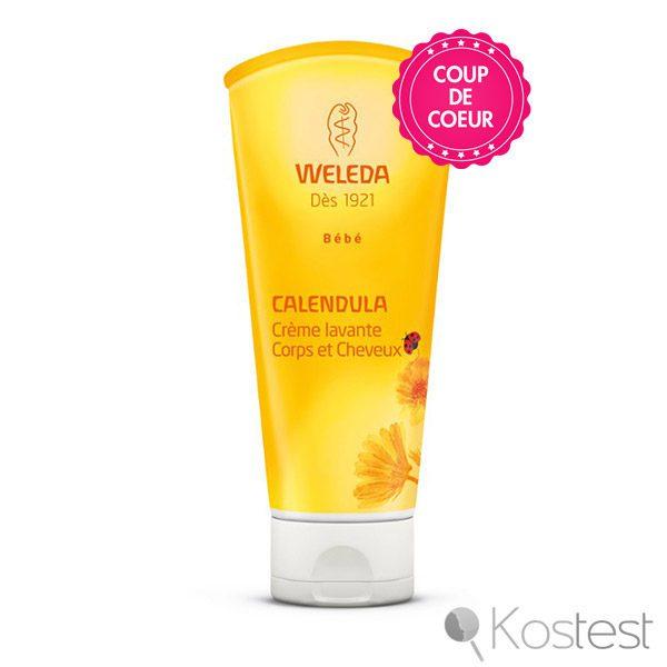 Crème lavante au Calendula Weleda