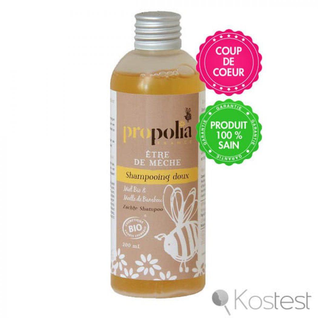 Shampooing doux Etre de mèche Propolia